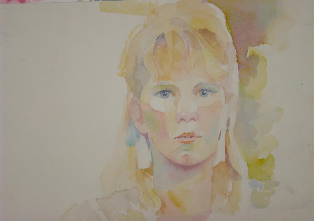 """Erica"" original fine art by meribeth coyne"