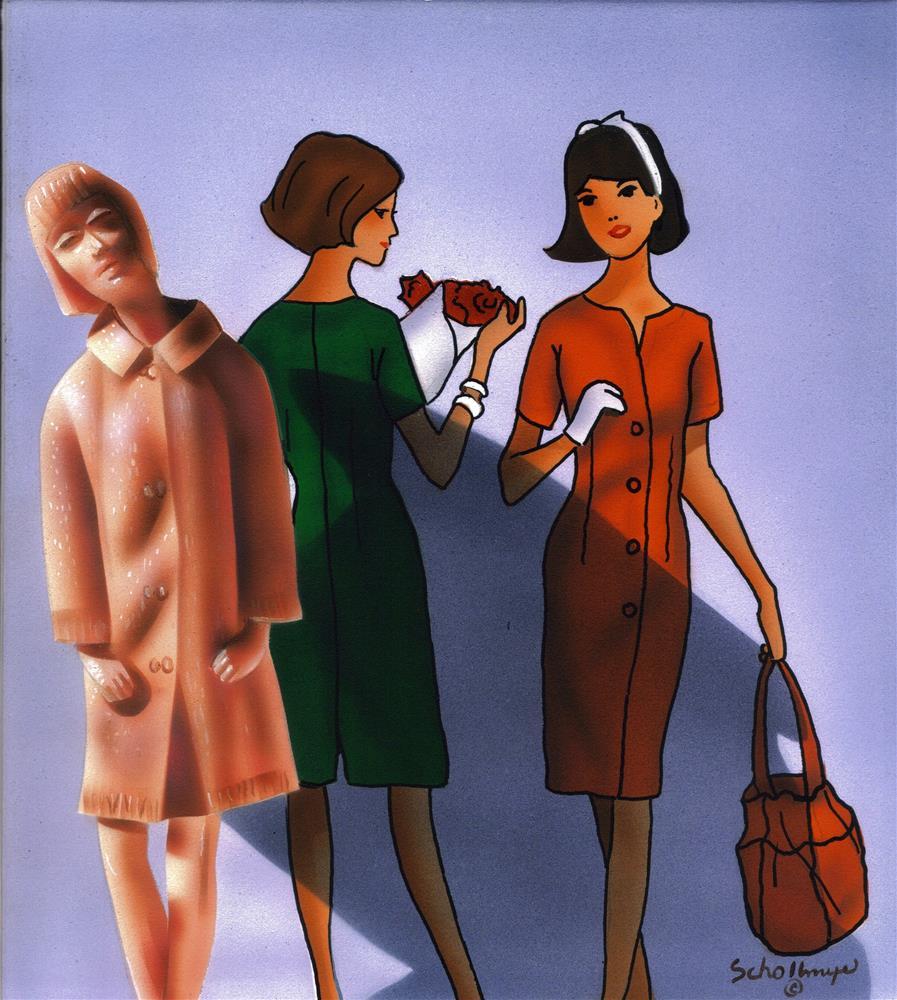 """Retro Style"" original fine art by Fred Schollmeyer"