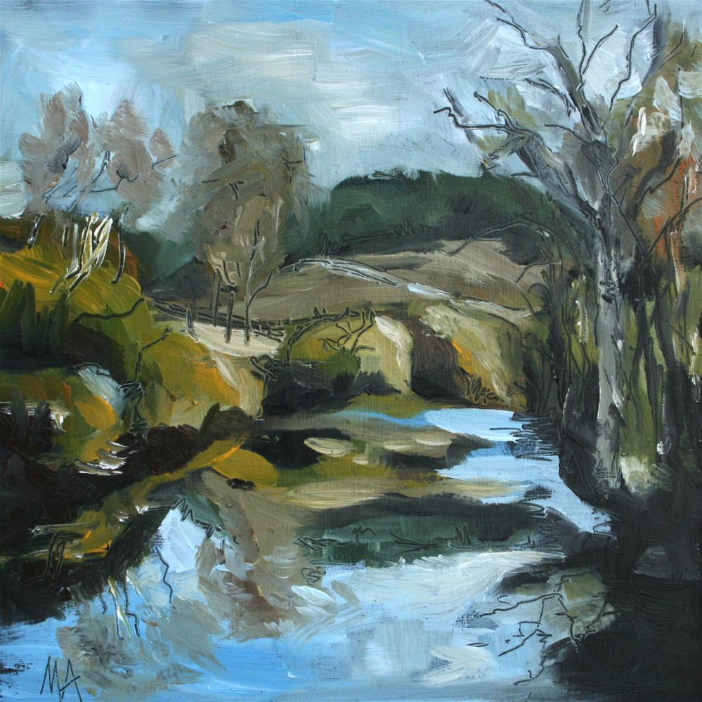 """Stillness"" original fine art by Aniko Makay"