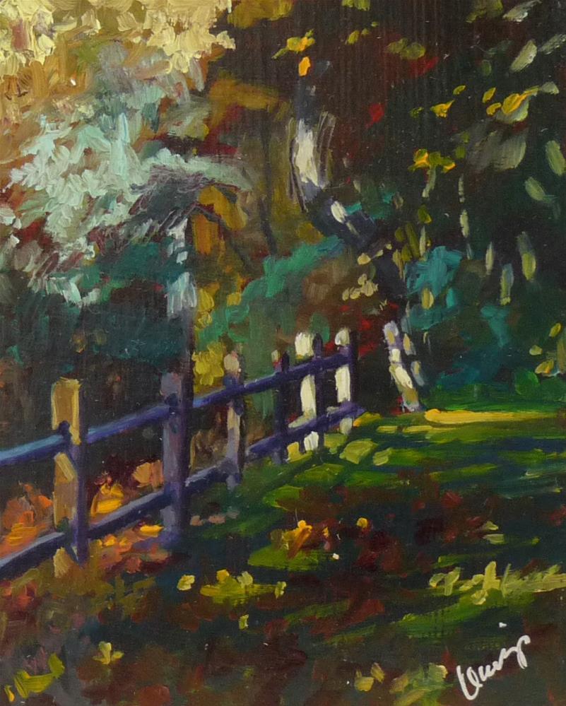 """""""Gated Community"""" original fine art by Sharman Owings"""