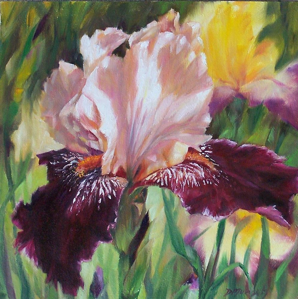 """""""Royal Iris"""" original fine art by Donna Munsch"""