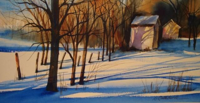"""""""Jack's Place"""" original fine art by Kathy Los-Rathburn"""