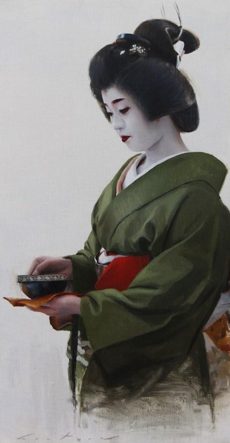 """""""Ichimari"""" original fine art by Phil Couture"""