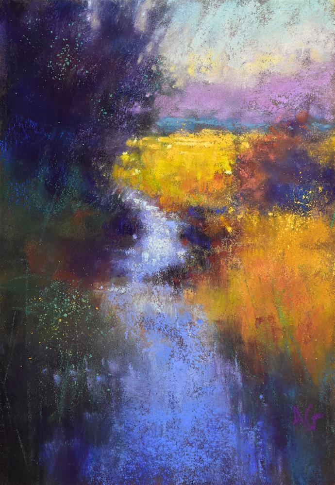 """Entering Padilla Bay"" original fine art by Alejandra Gos"