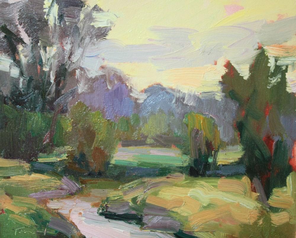 """Nisqually Marsh"" original fine art by Kathryn Townsend"