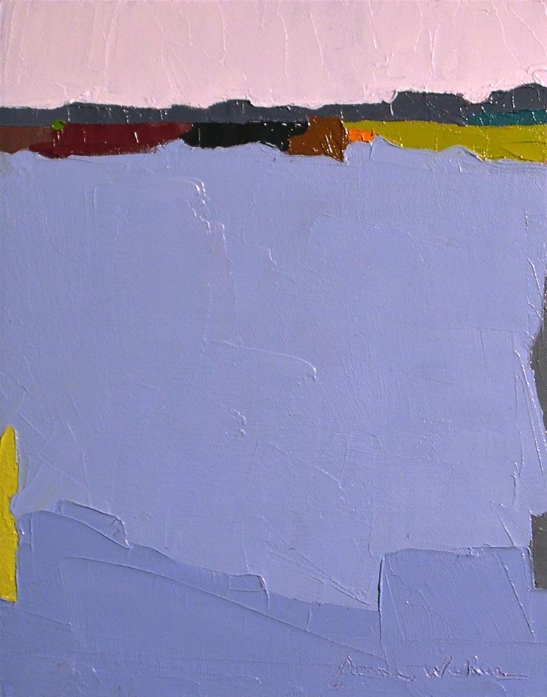 """Horizon VIII"" original fine art by Donna Walker"