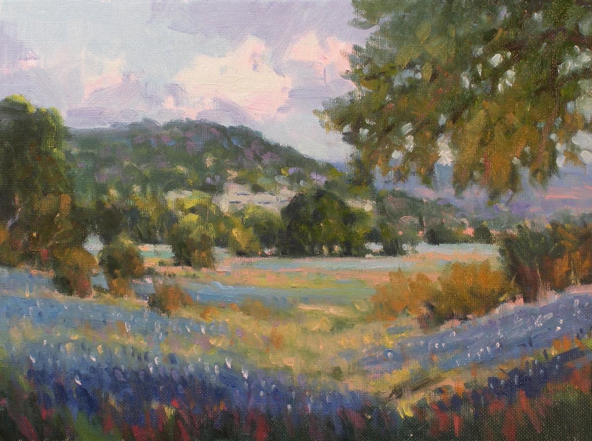 """A Spring Day"" original fine art by David Forks"