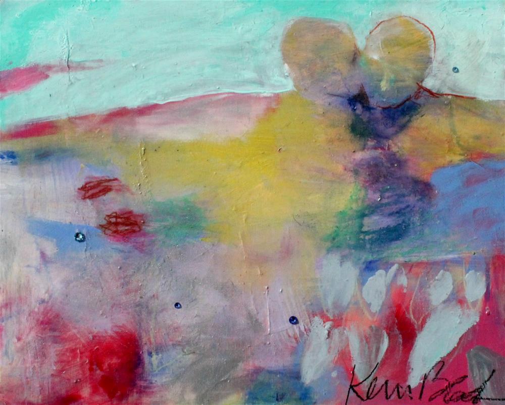 """""""A Kiss"""" original fine art by Kerri Blackman"""