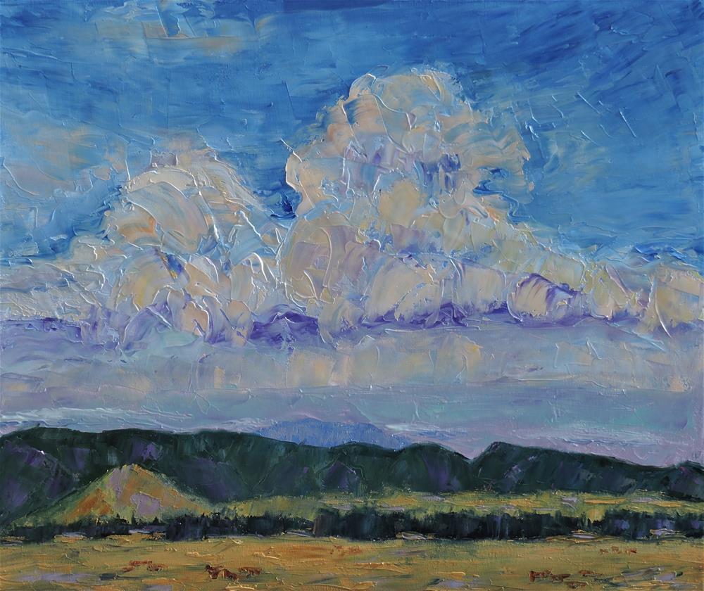"""""""Big Sky Country"""" original fine art by Linda mooney"""