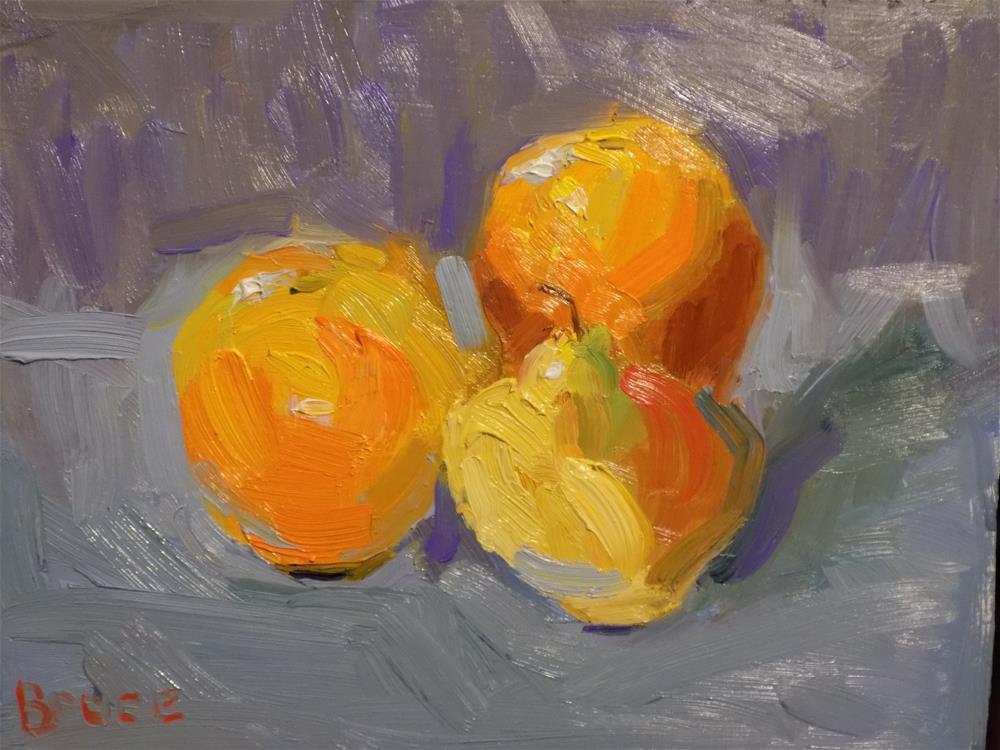 """""""Fruit Natural Light"""" original fine art by Rita Brace"""