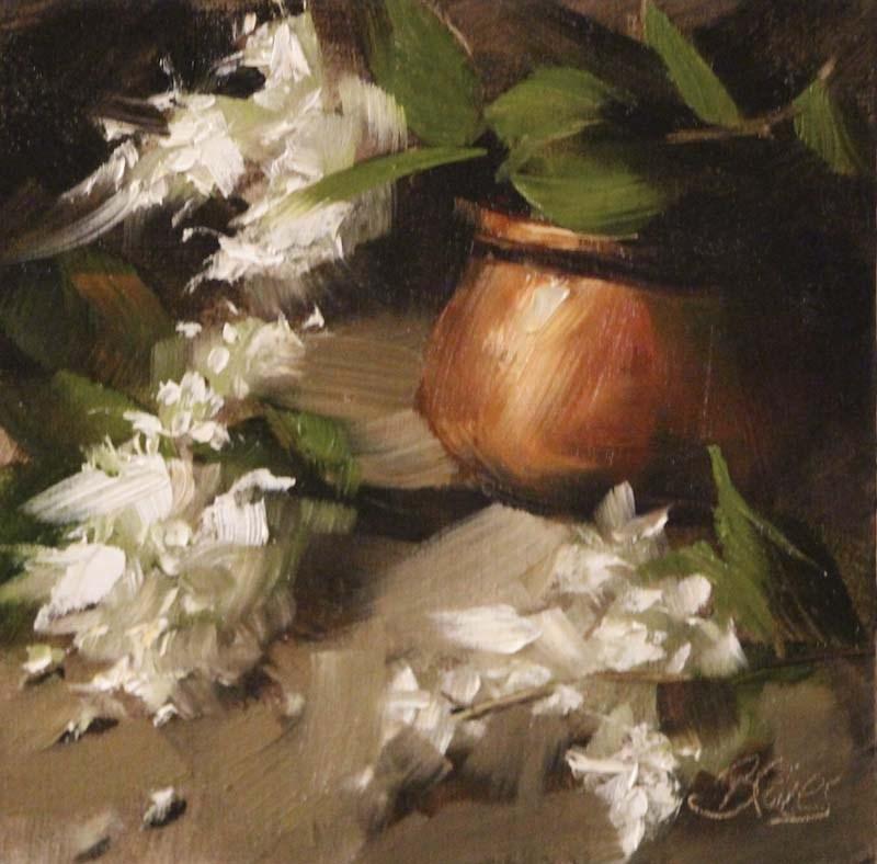 """Fragrance of Spring"" original fine art by Pamela Blaies"