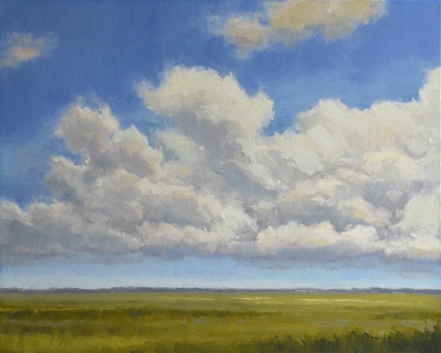 """""""Suspended - Anderson Gallery Exhibit"""" original fine art by Laurel Daniel"""