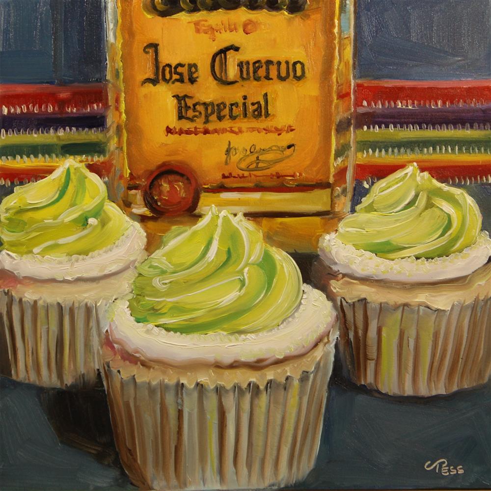 """Jose Cuervo- Shelly West"" original fine art by Tess Lehman"