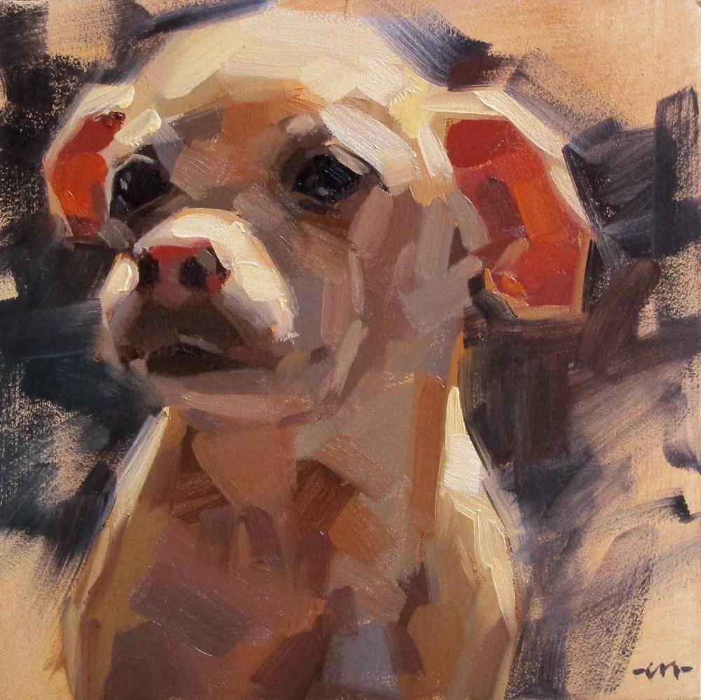 """Oatis"" original fine art by Carol Marine"