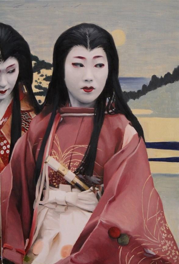 """Lady Shizuka"" original fine art by Phil Couture"
