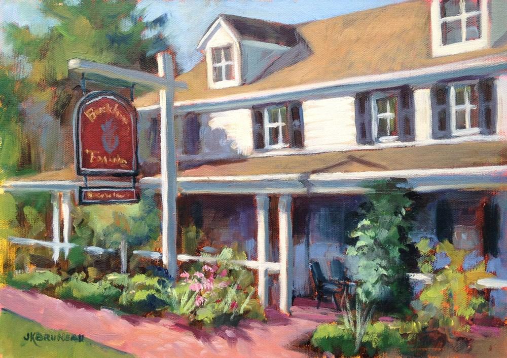 """Buckley's Tavern"" original fine art by Jeanne Bruneau"