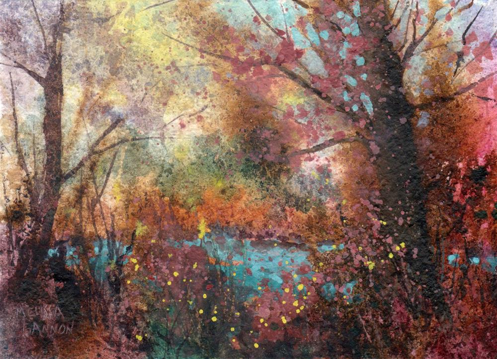 """Colors & Woods"" original fine art by Melissa Gannon"