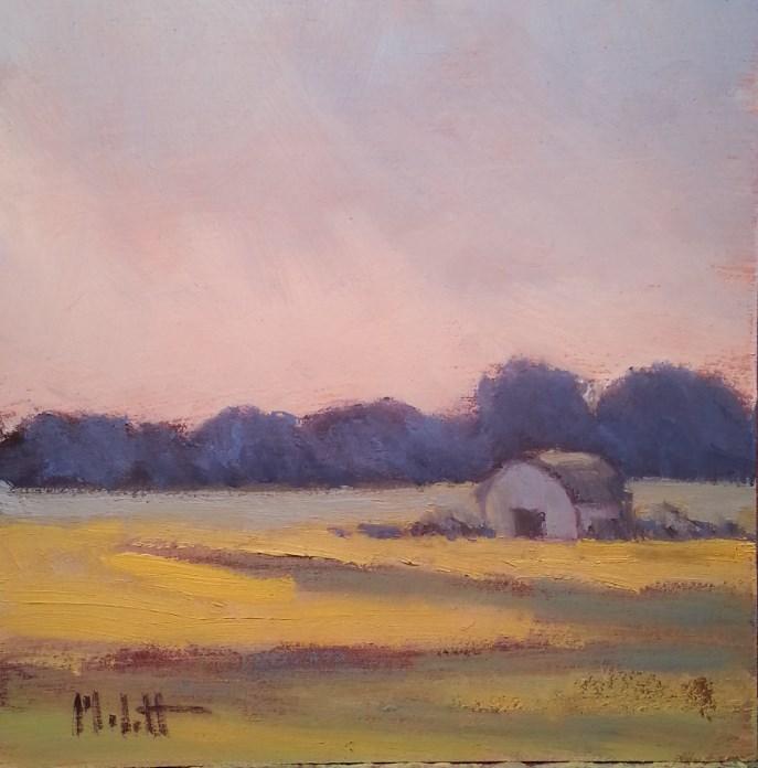 """Early Morning"" original fine art by Heidi Malott"