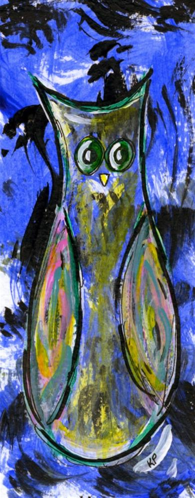 """In Awe"" original fine art by Kali Parsons"