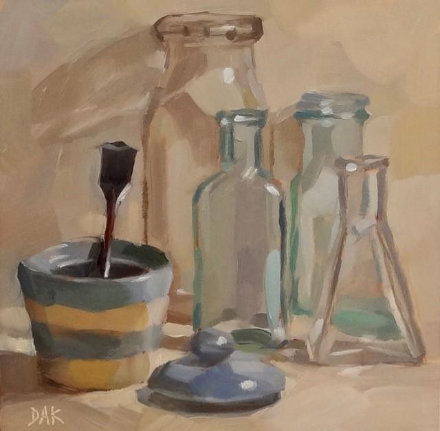 """Some Sugar"" original fine art by Deborah Ann Kirkeeide"