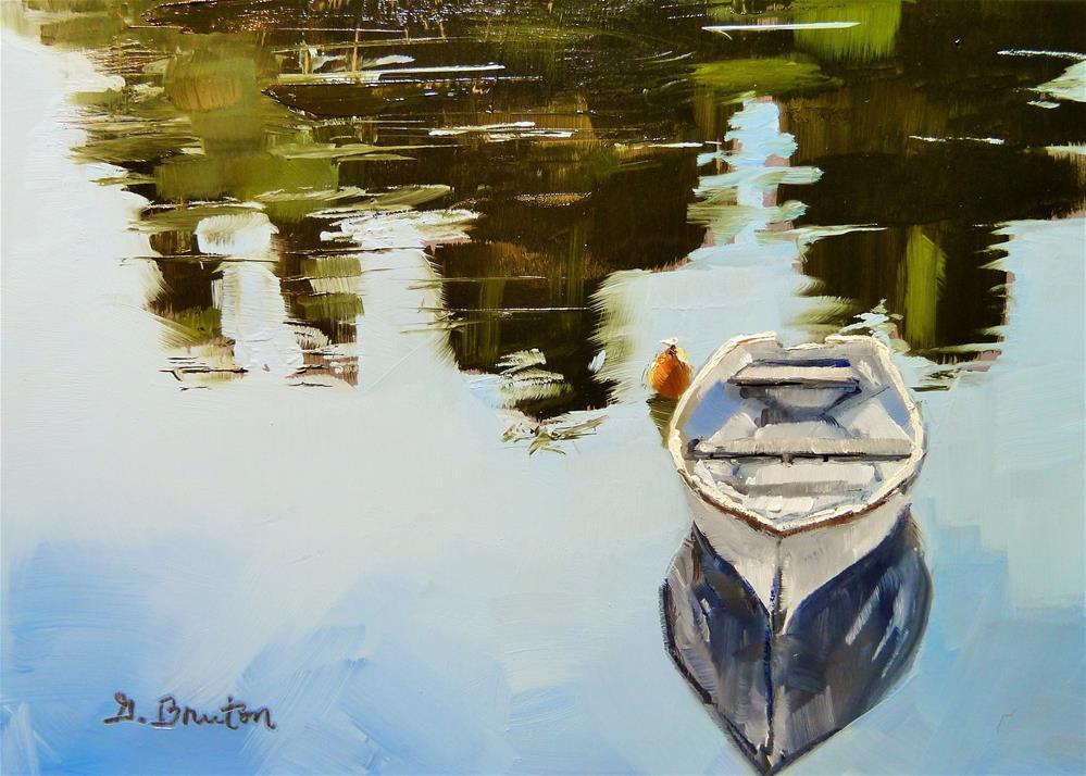 """Still Water"" original fine art by Gary Bruton"