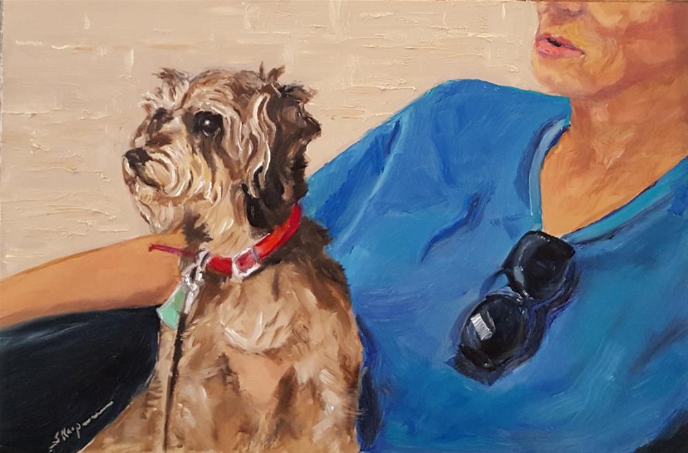 """Mo and Pat"" original fine art by Shelley Koopmann"