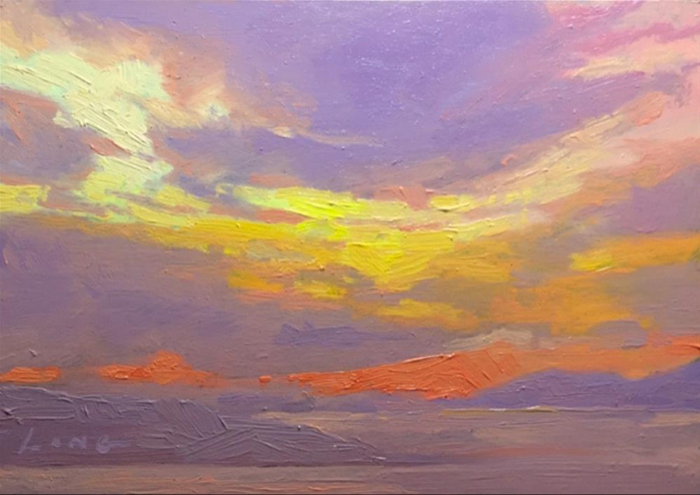 """Lost Horizon I"" original fine art by Chris Long"