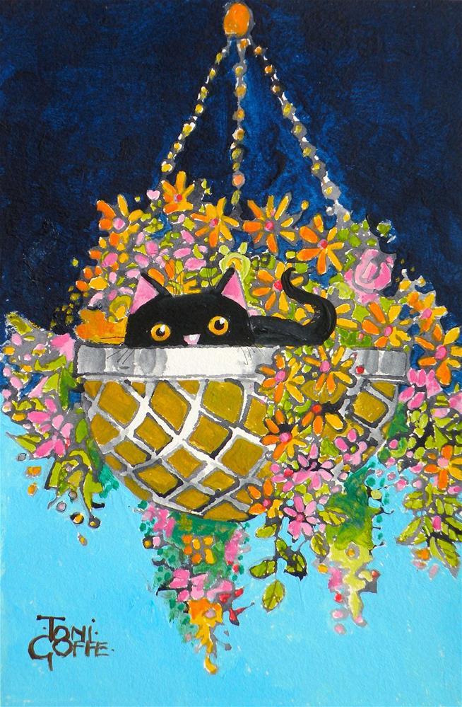 """Bolthole"" original fine art by Toni Goffe"