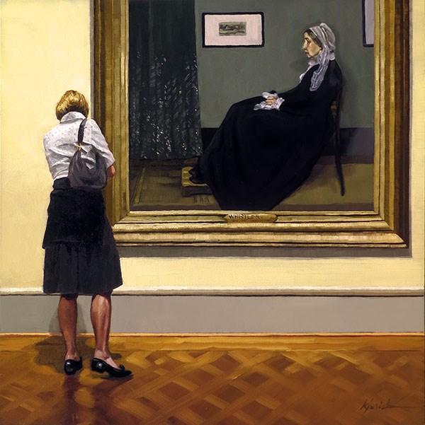 """""""A Mother Figure"""" original fine art by Karin Jurick"""
