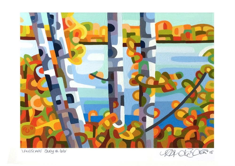 """Landscape Study #66"" original fine art by Mandy Budan"