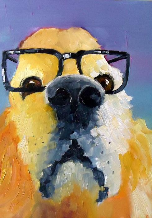 """Trust Me. I'm a Doctor."" original fine art by Laurie Mueller"