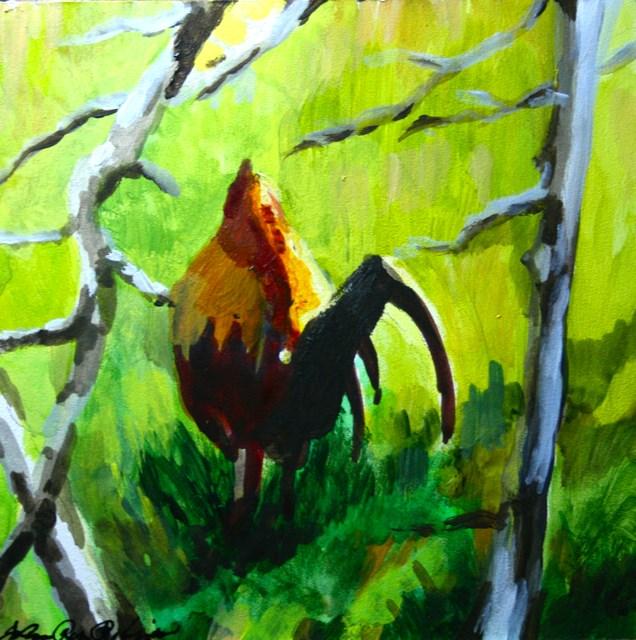 """Baby's Got Back"" original fine art by JoAnne Perez Robinson"