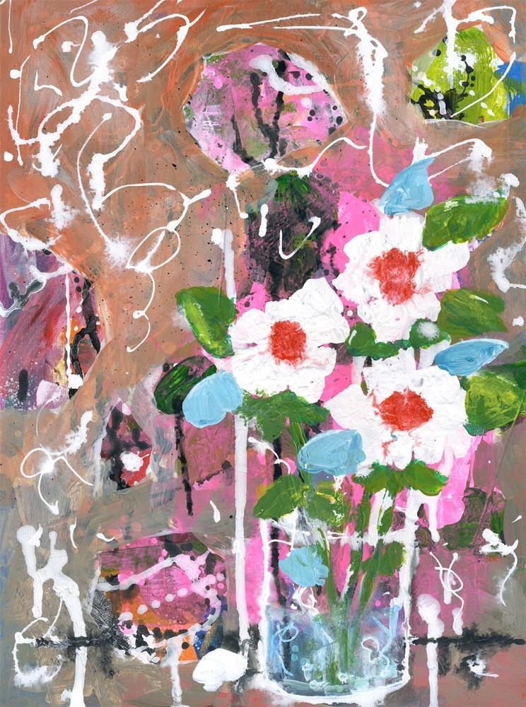 """A Girl Can Dream"" original fine art by Kali Parsons"