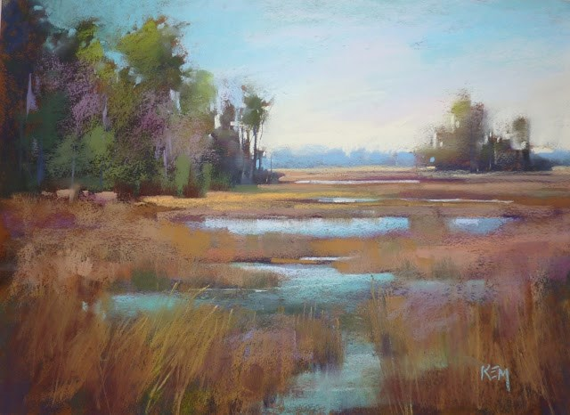 """""""Art Quote of the Day...Creating Mystery in Your Paintings"""" original fine art by Karen Margulis"""