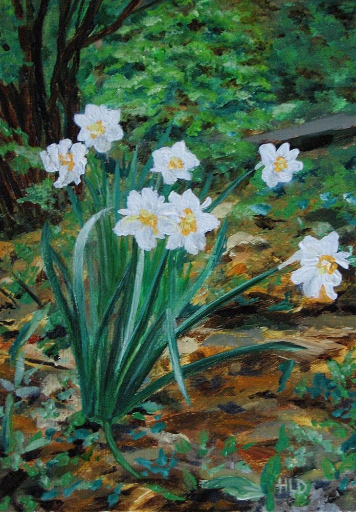"""""""Flower Drift"""" original fine art by Heather Douglas"""