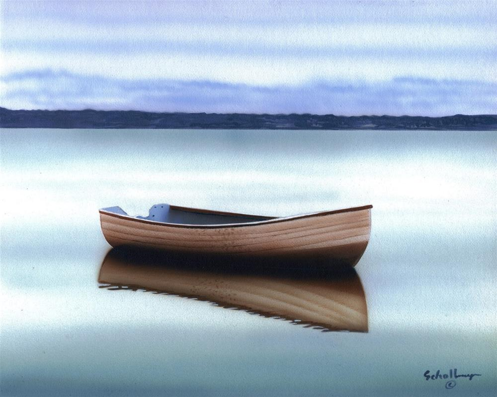 """""""Tranquil Reflections"""" original fine art by Fred Schollmeyer"""