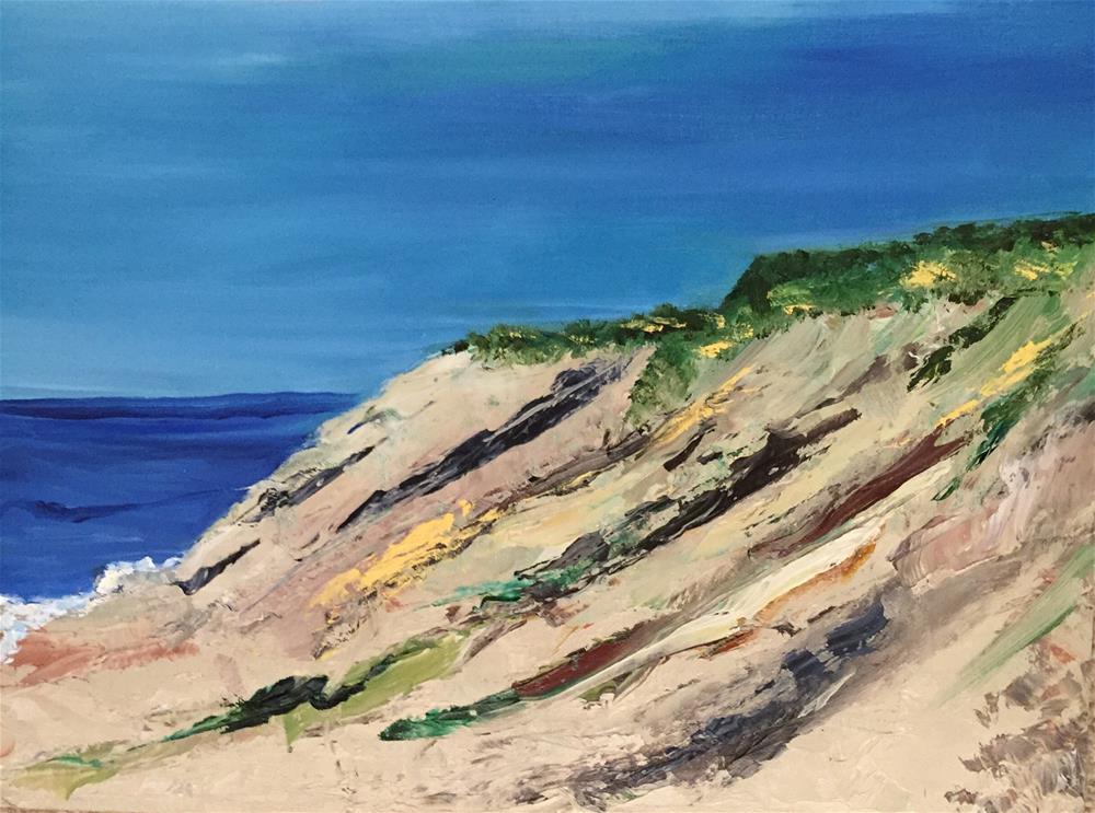 """Cape Cod Dune"" original fine art by Patty Barnes"