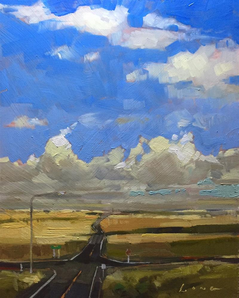 """""""Crossroads"""" original fine art by Chris Long"""