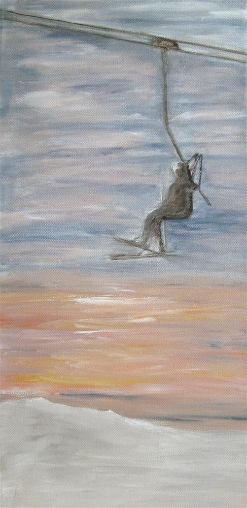 """Last Lift"" original fine art by Alina Frent"