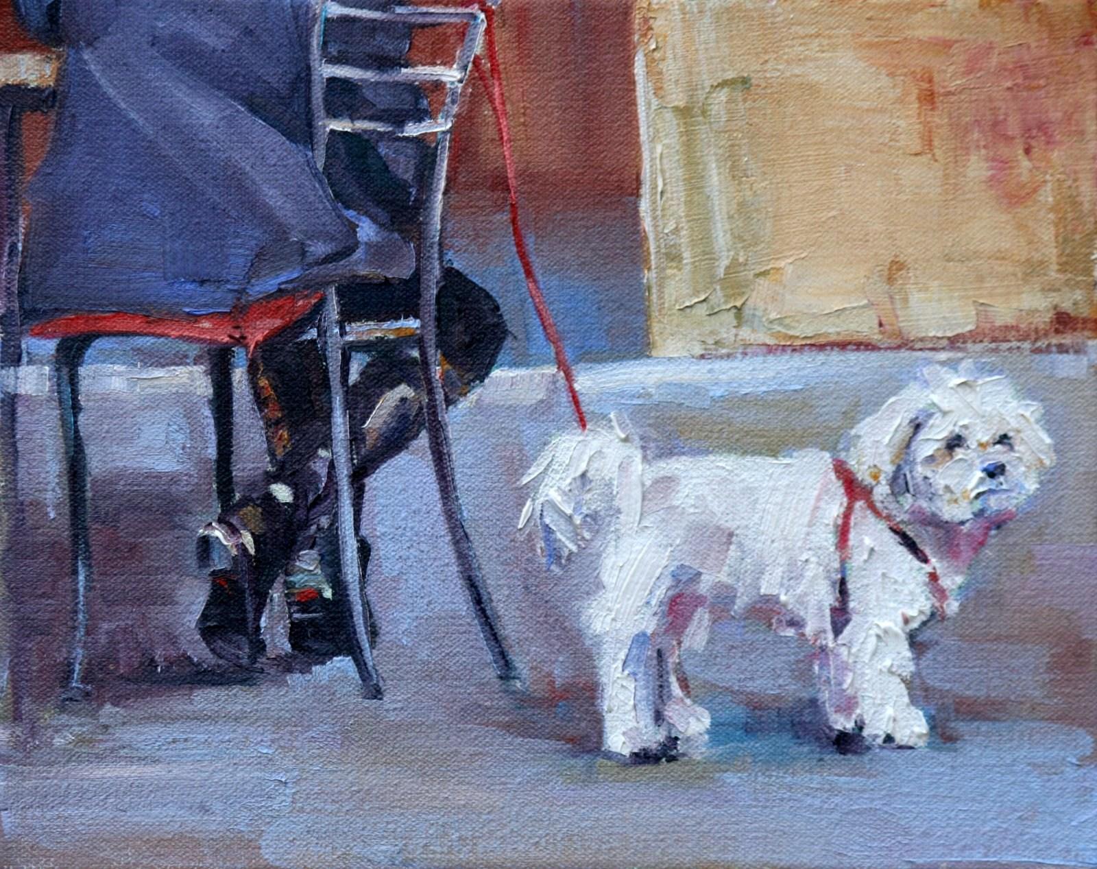 """passing time"" original fine art by Carol Carmichael"