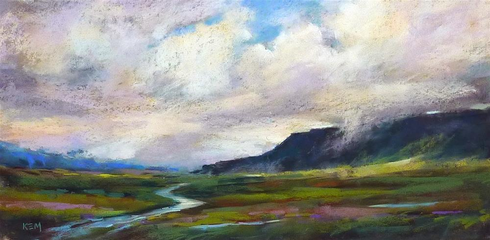 """Iceland: Through an Artist's Eyes  part 5 Journey around the Golden Circle"" original fine art by Karen Margulis"