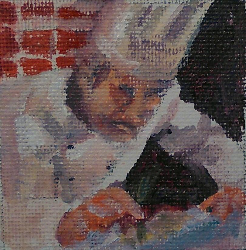 """""""Attention to Detail"""" original fine art by Ann Rudd"""