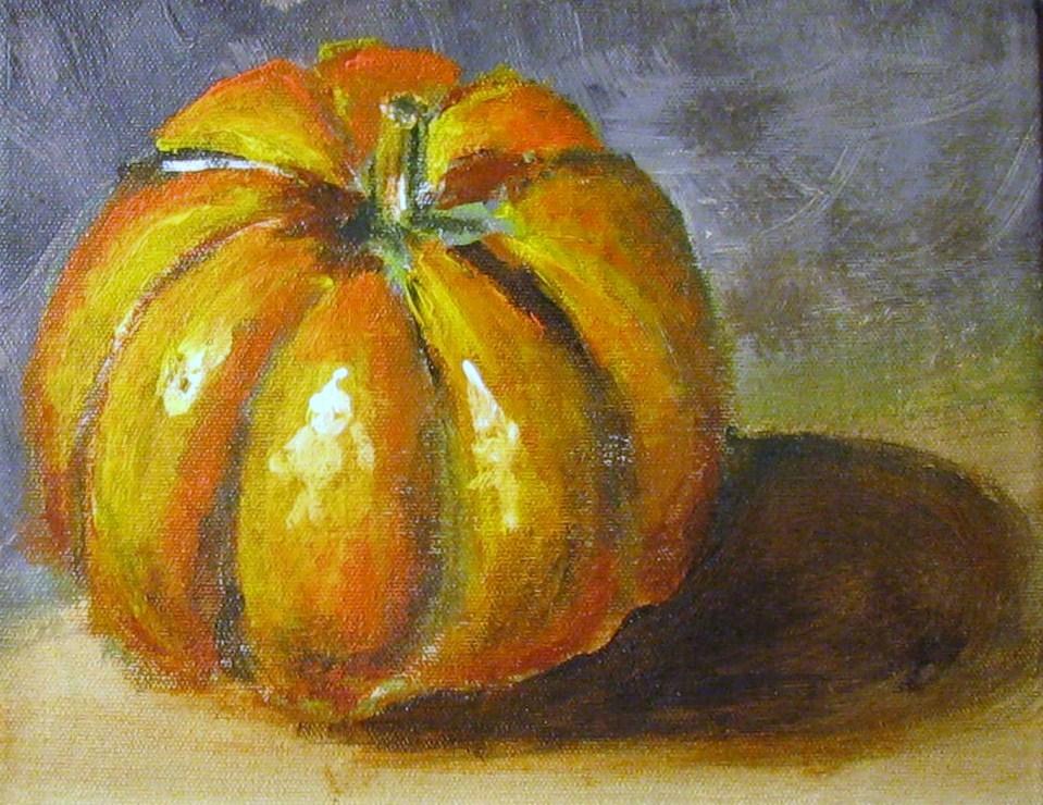 """Autumn's Gold"" original fine art by Susan Elizabeth Jones"