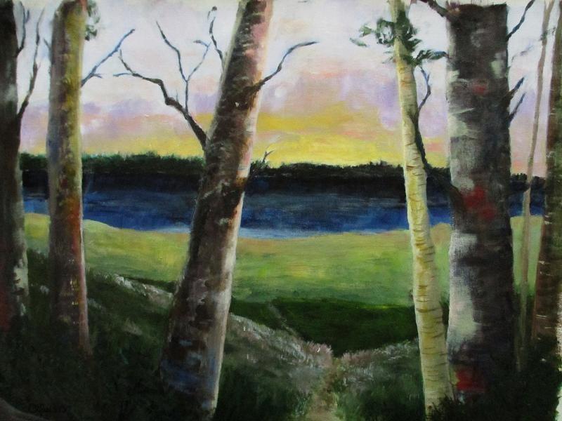 """Solitude"" original fine art by christina glaser"