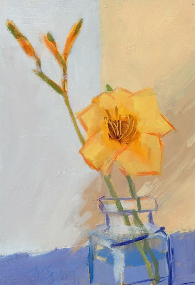 """Blossom Three V. 2"" original fine art by Mitch Egeberg"