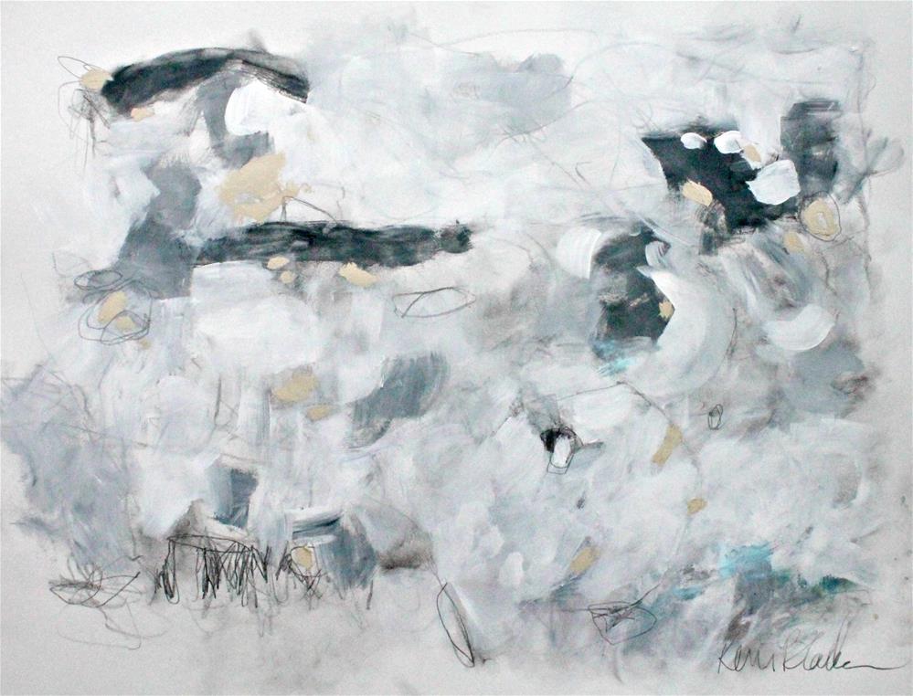 """Rainy Day Nap"" original fine art by Kerri Blackman"