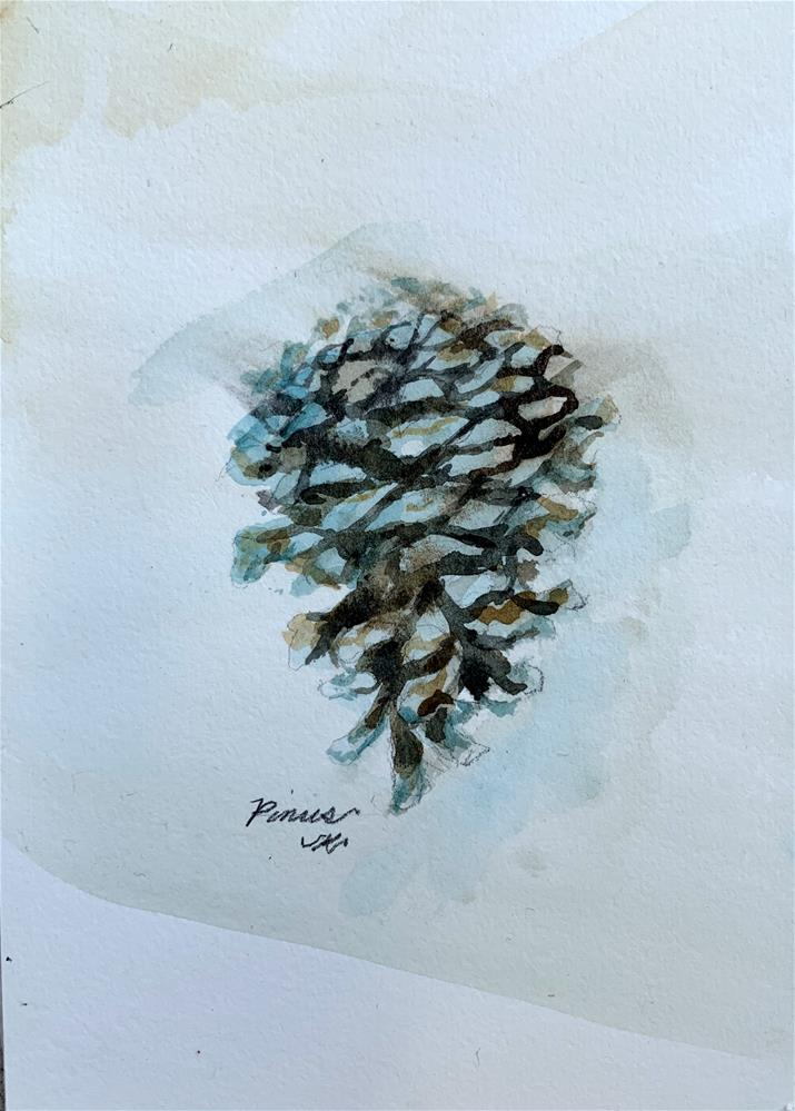 """Pinus"" original fine art by Jean Krueger"