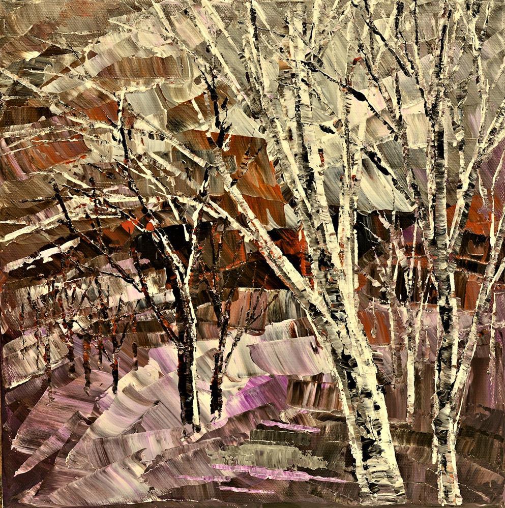 """Wake at Nightfall"" original fine art by Tatiana Iliina"