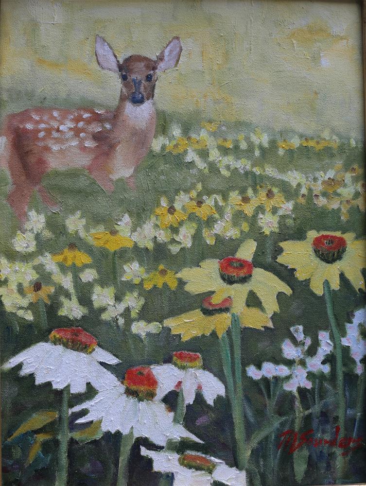 """Home Sweet Home"" original fine art by Michael Saunders"