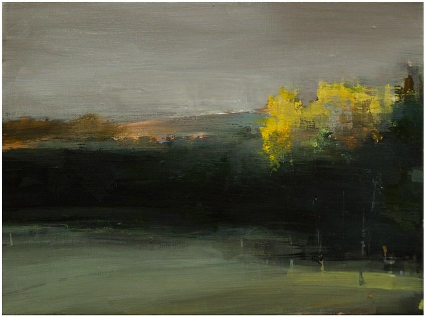 """""""Late afternoon: Autumn"""" original fine art by Steven Goodman"""